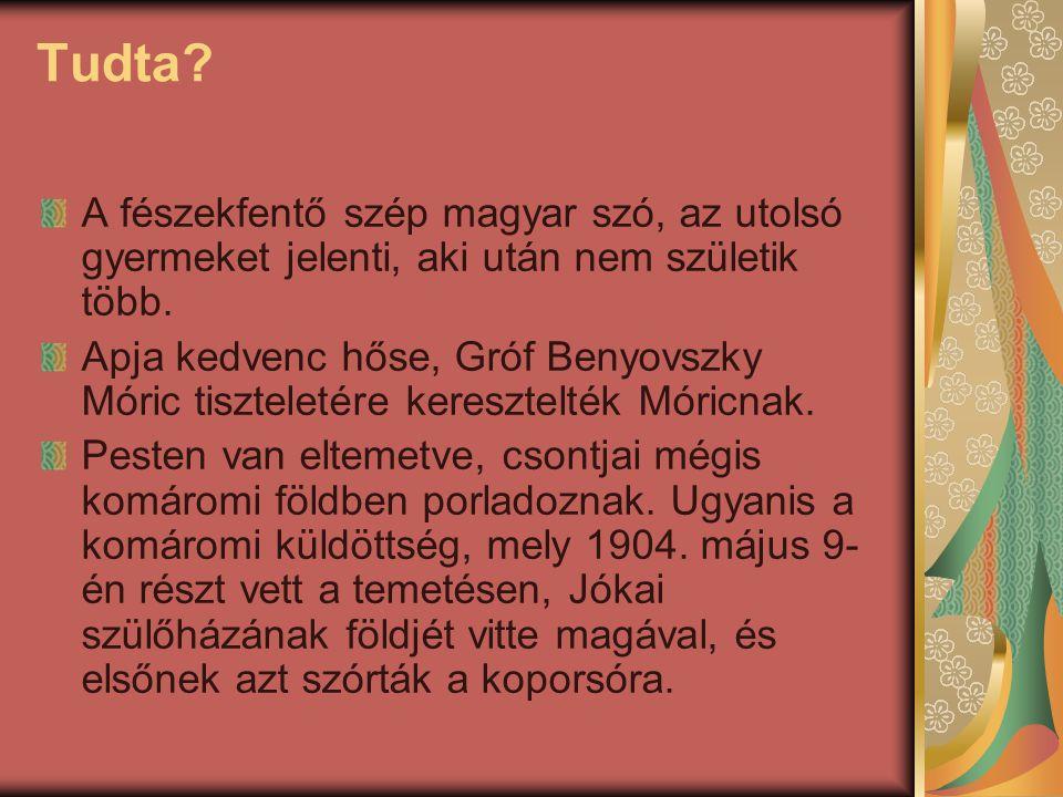 Tudta A fészekfentő szép magyar szó, az utolsó gyermeket jelenti, aki után nem születik több.
