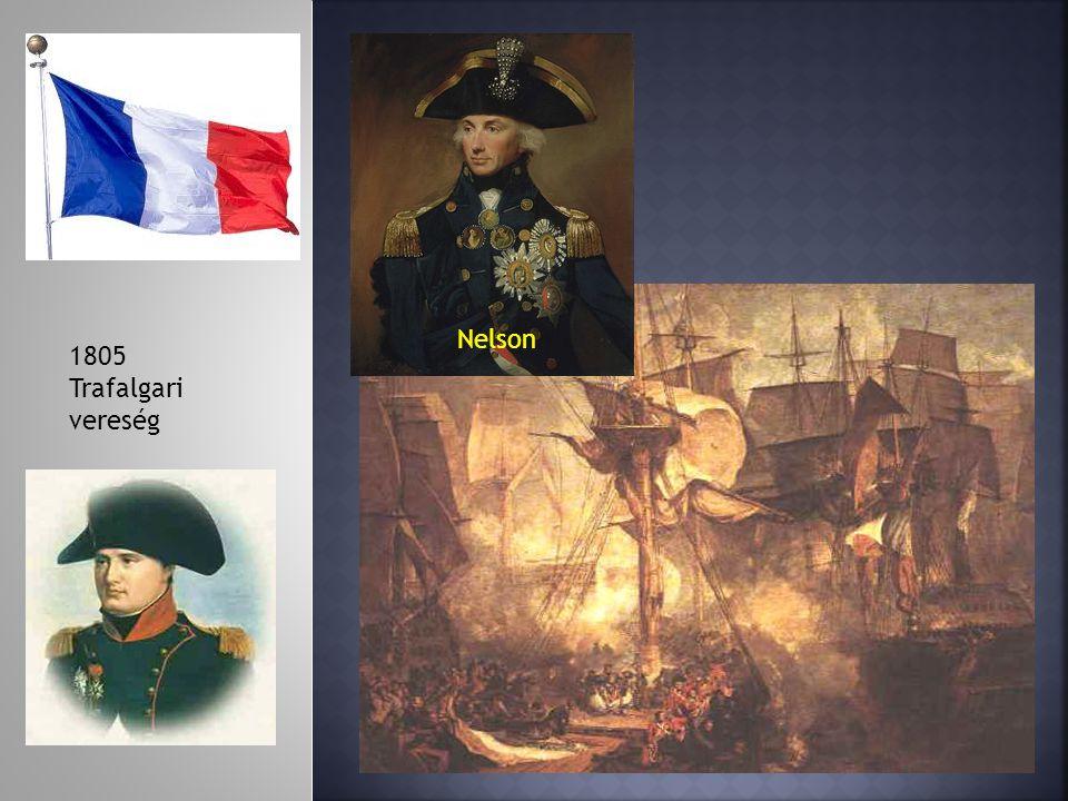 Nelson 1805 Trafalgari vereség