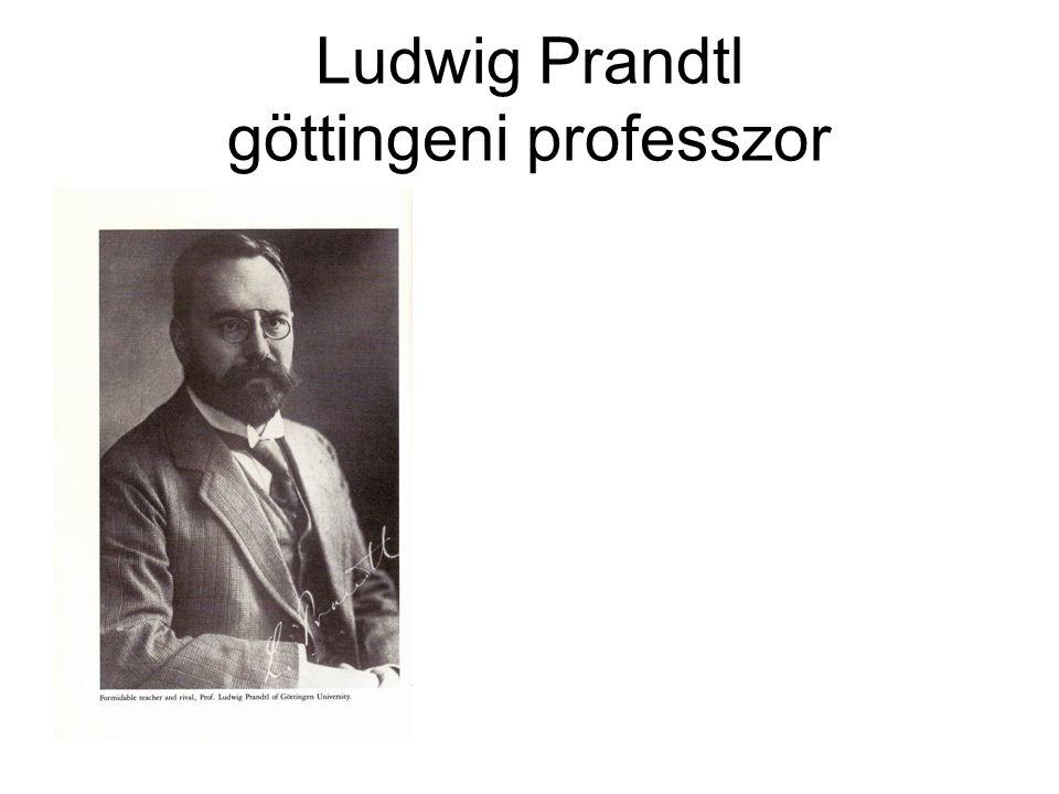 Ludwig Prandtl göttingeni professzor