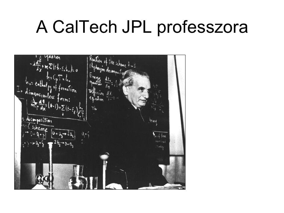 A CalTech JPL professzora