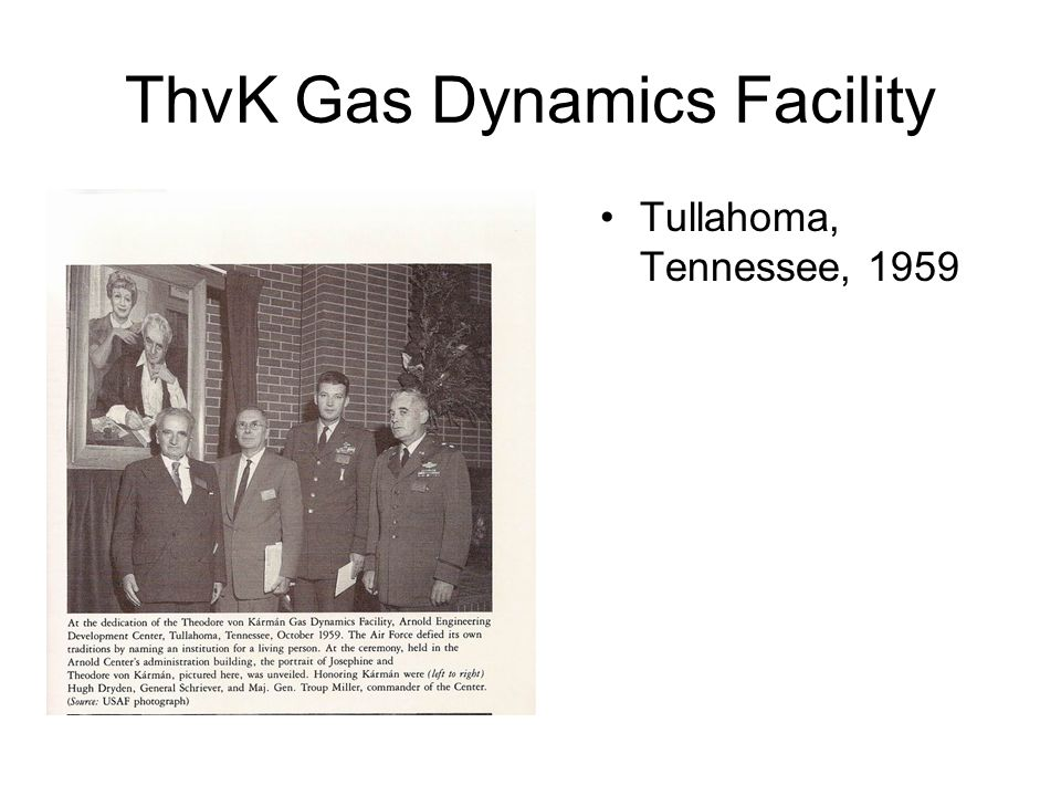 ThvK Gas Dynamics Facility