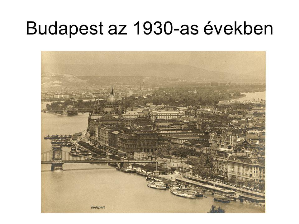 Budapest az 1930-as években