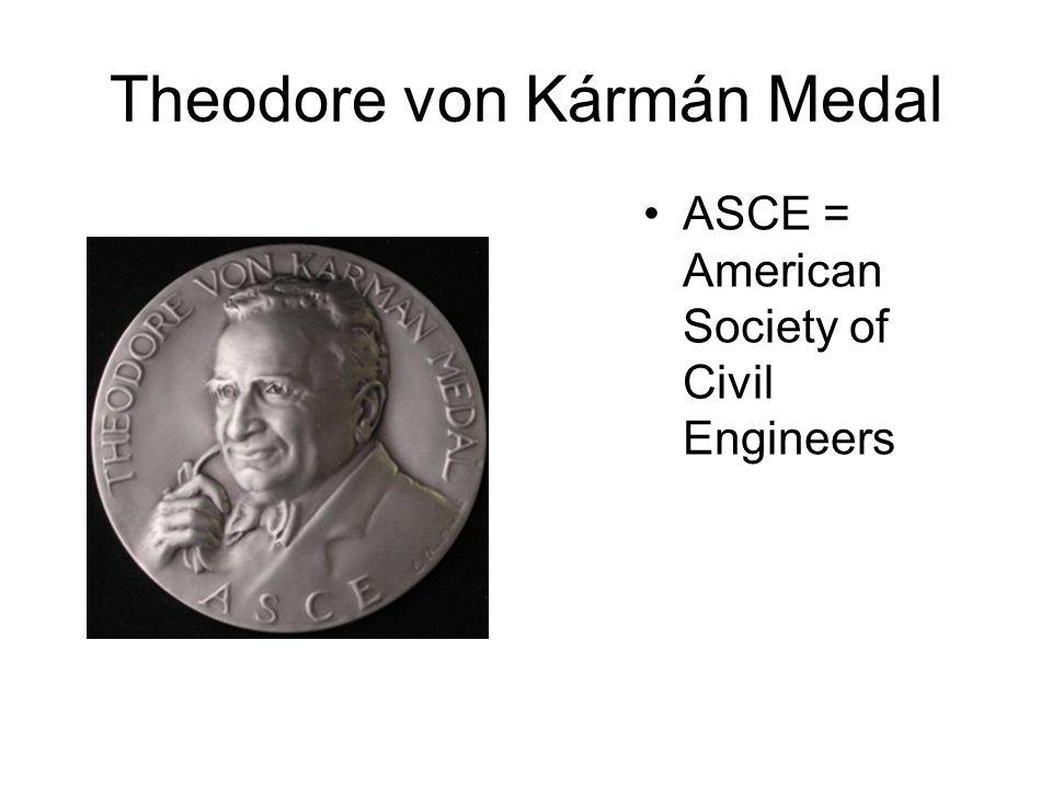 Theodore von Kármán Medal