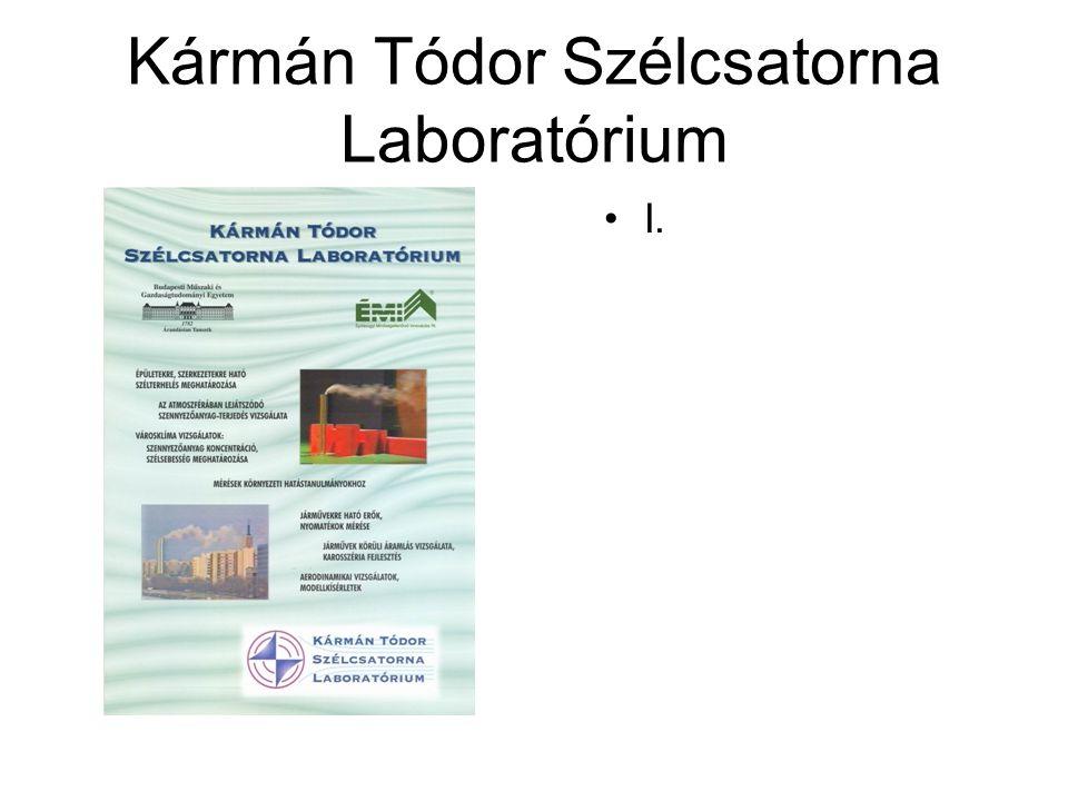 Kármán Tódor Szélcsatorna Laboratórium