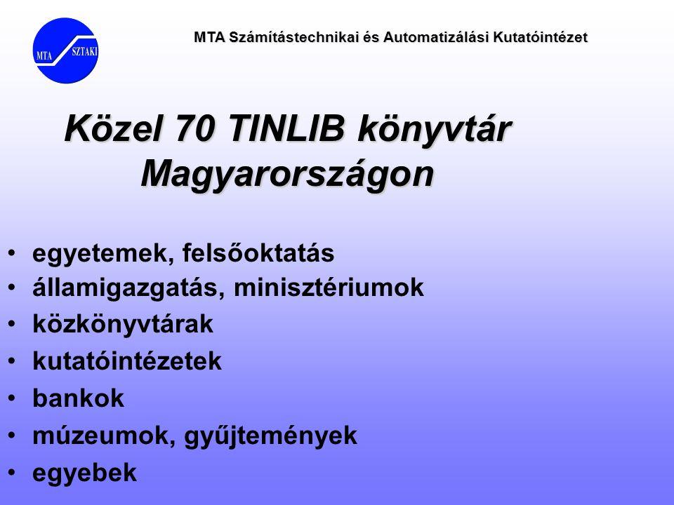 Közel 70 TINLIB könyvtár Magyarországon