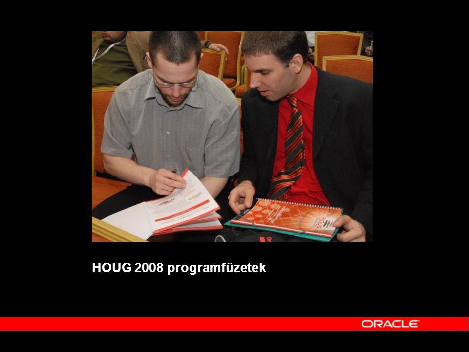 HOUG 2008 programfüzetek