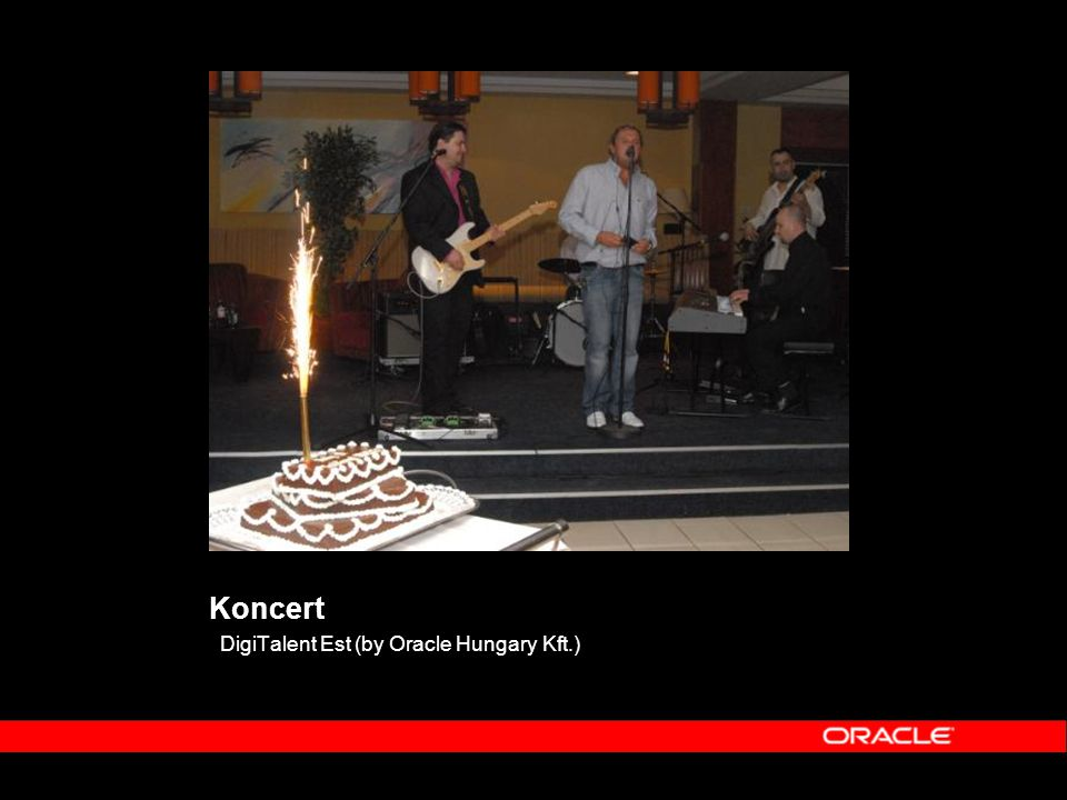 Koncert DigiTalent Est (by Oracle Hungary Kft.)