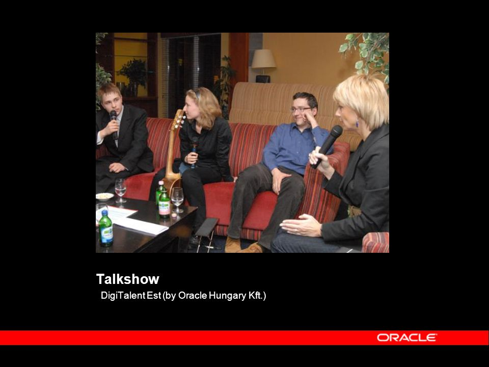 Talkshow DigiTalent Est (by Oracle Hungary Kft.)