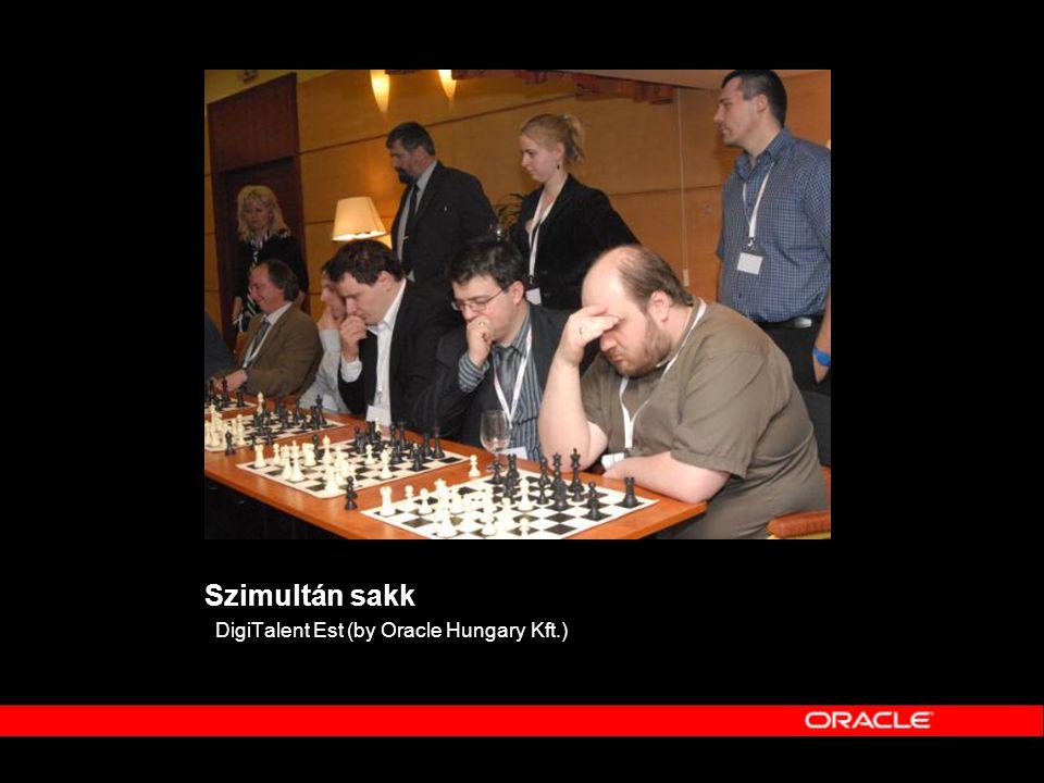 Szimultán sakk DigiTalent Est (by Oracle Hungary Kft.)