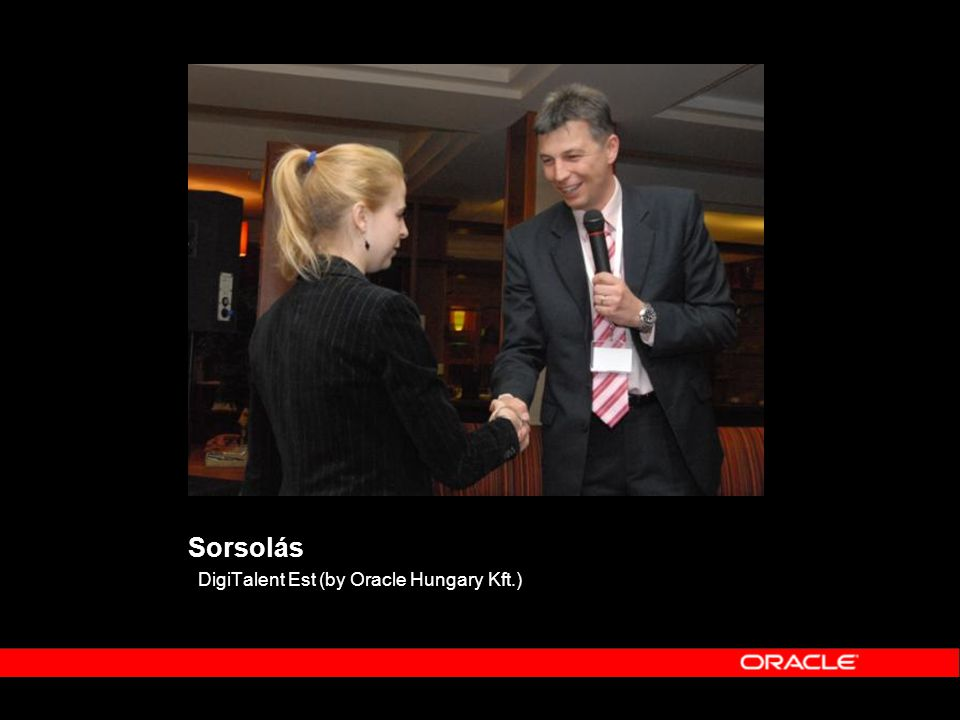 Sorsolás DigiTalent Est (by Oracle Hungary Kft.)