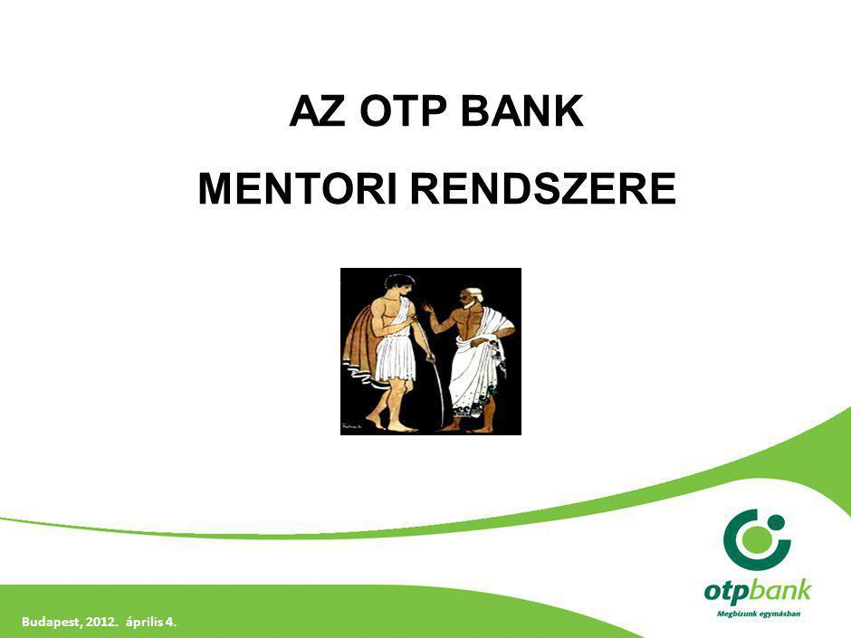 Munkaerő piaci helyzet - miért kell az OTP Banknak mentori rendszer
