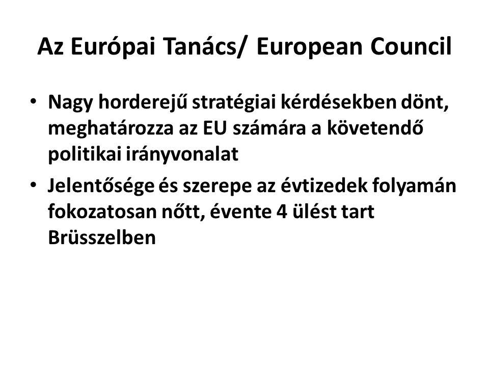 Az Európai Tanács/ European Council
