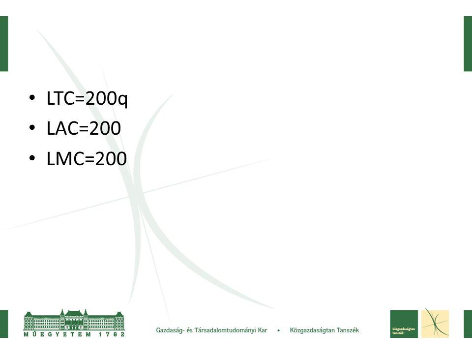 LTC=200q LAC=200 LMC=200