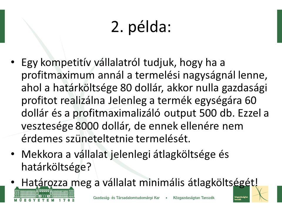 2. példa: