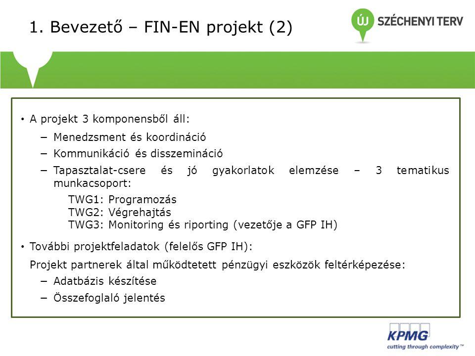 1. Bevezető – FIN-EN projekt (2)