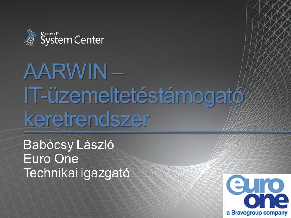 AARWIN – IT-üzemeltetéstámogató keretrendszer