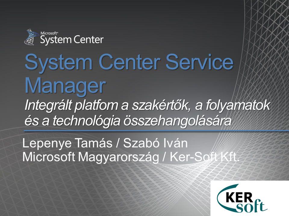 Lepenye Tamás / Szabó Iván Microsoft Magyarország / Ker-Soft Kft.