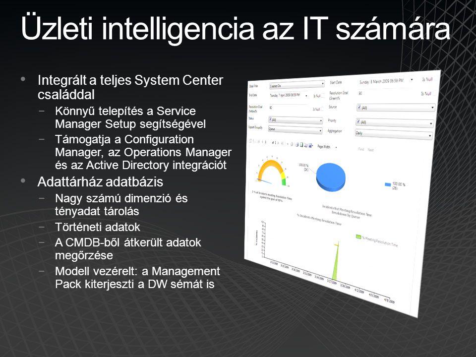 Üzleti intelligencia az IT számára