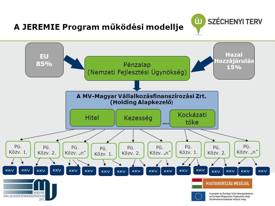A JEREMIE Program működési modellje