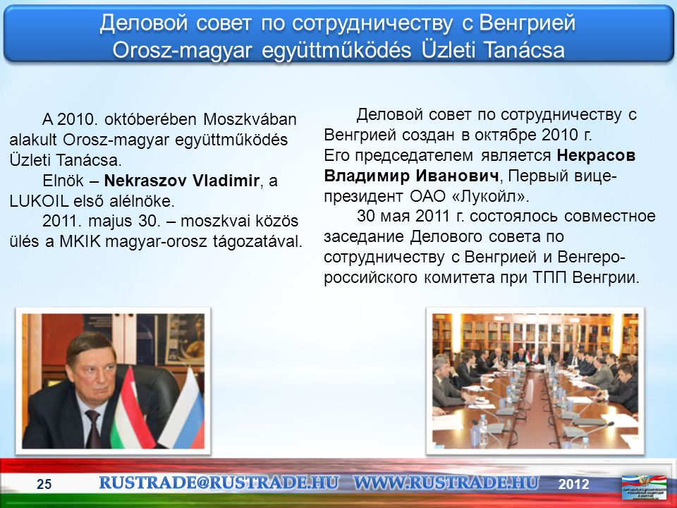 Деловой совет по сотрудничеству с Венгрией
