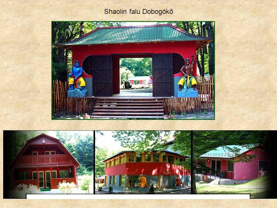Shaolin falu Dobogókő