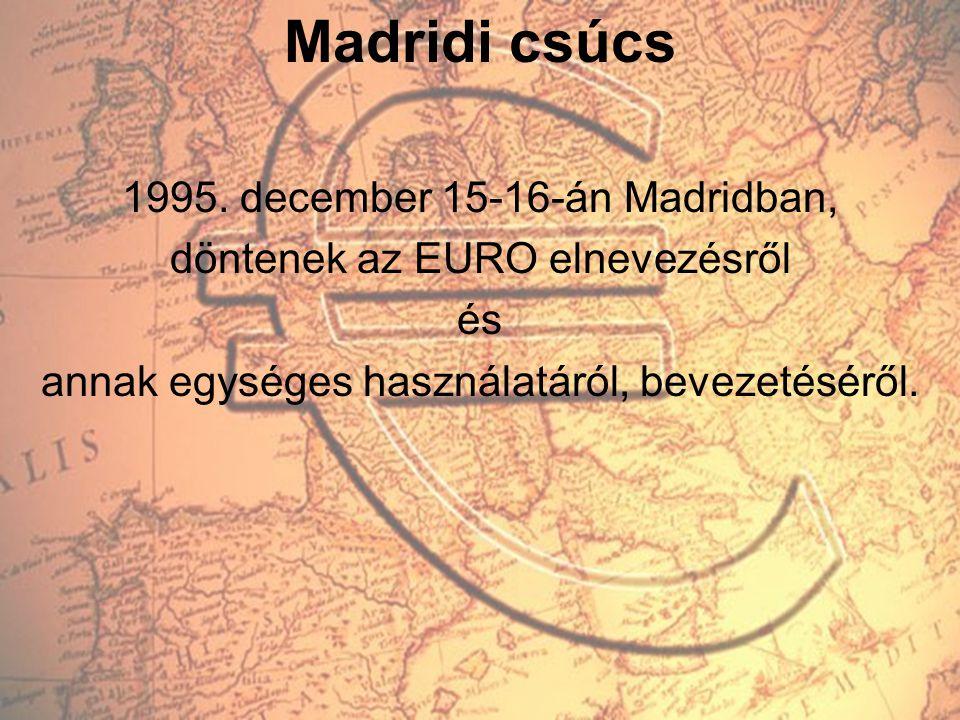 Madridi csúcs 1995. december 15-16-án Madridban,