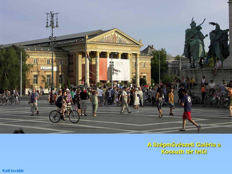 A Szépművészeti Galéria a Kossuth tér felől