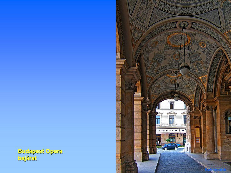 Budapest Opera bejárat