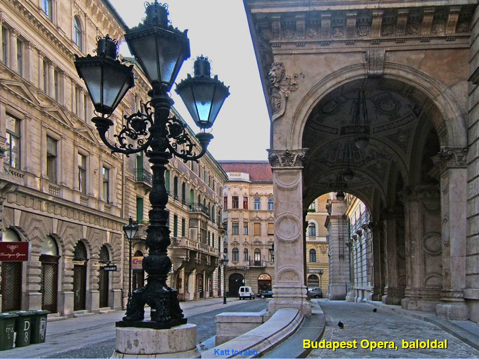 Budapest Opera, baloldal