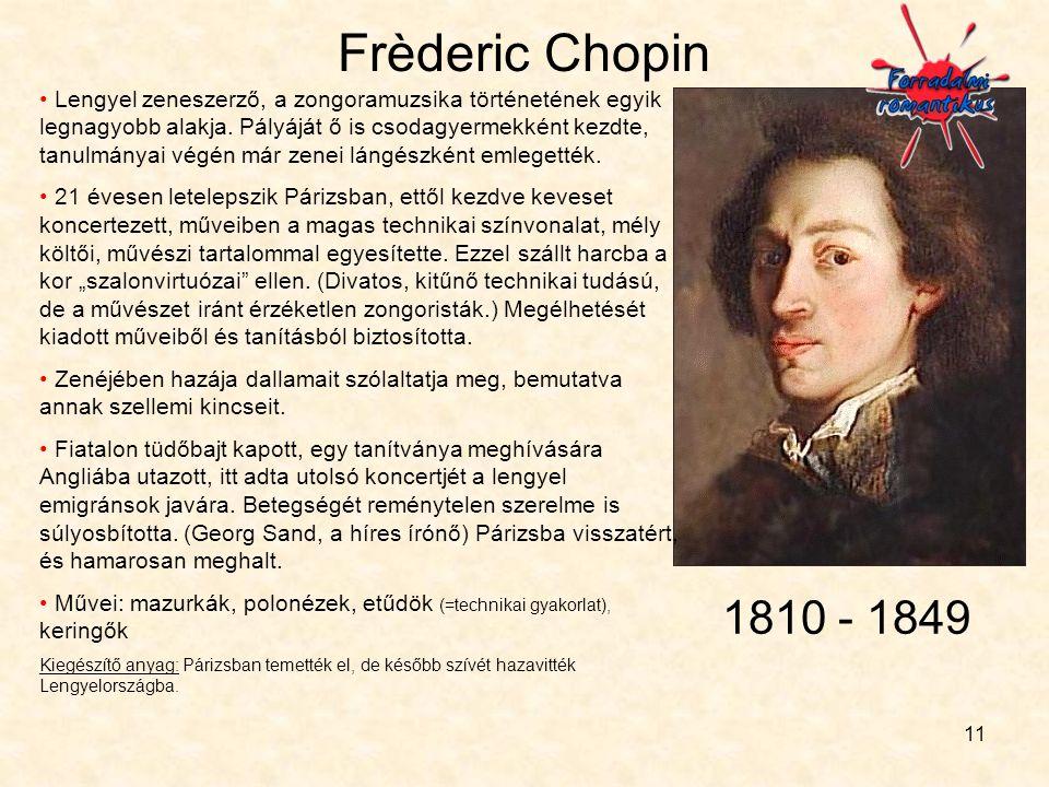 Frèderic Chopin