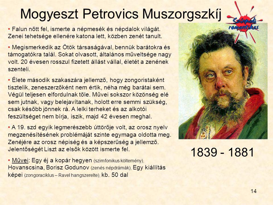 Mogyeszt Petrovics Muszorgszkíj