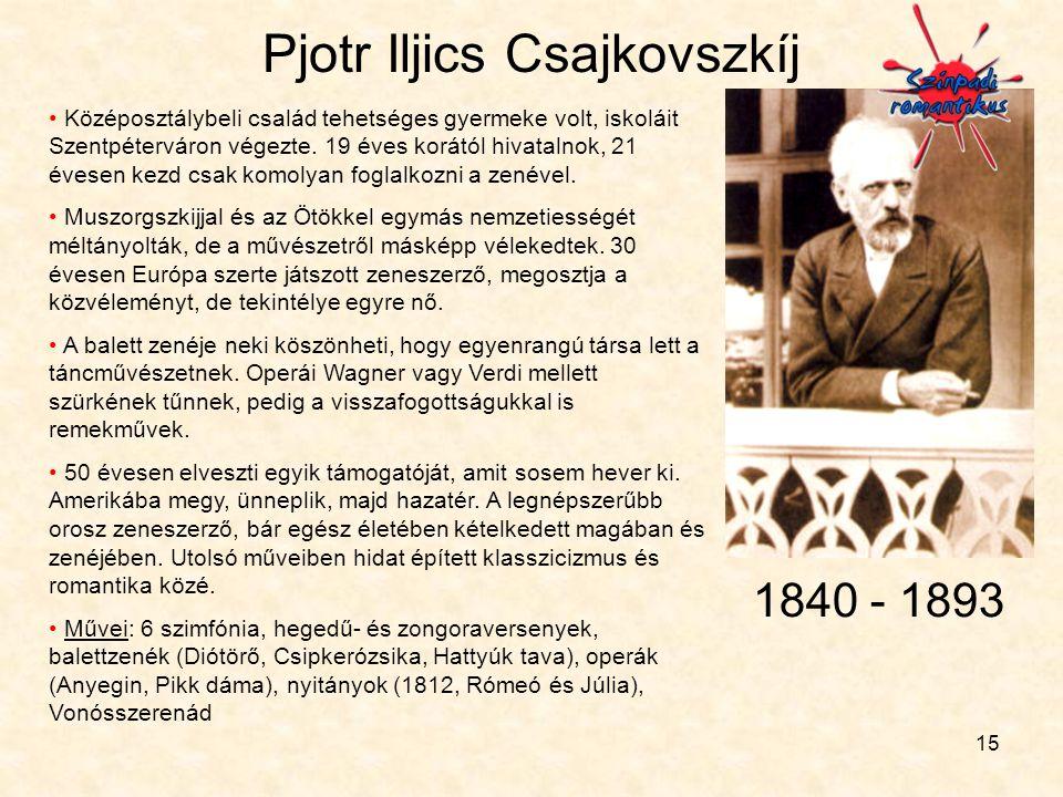 Pjotr Iljics Csajkovszkíj