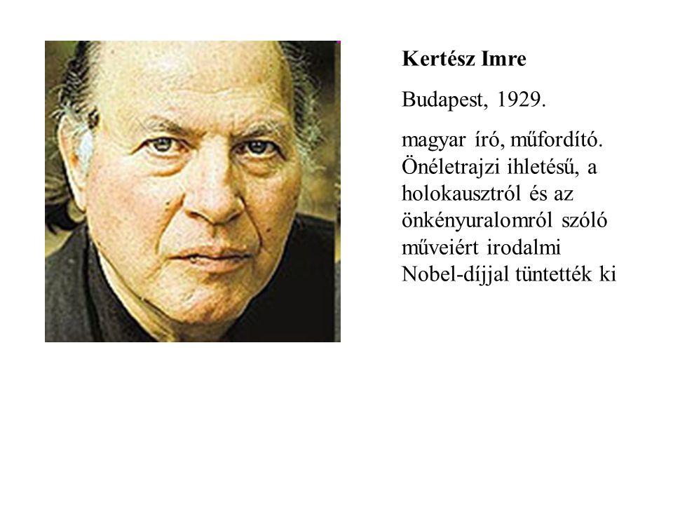 Kertész Imre Budapest, 1929.
