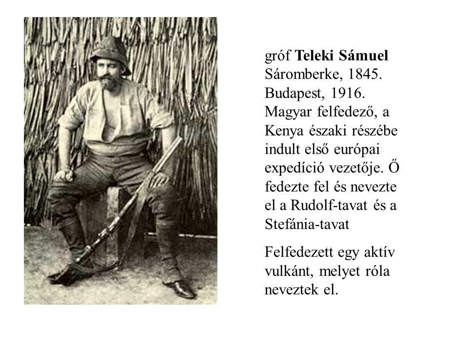 gróf Teleki Sámuel Sáromberke, 1845. Budapest, 1916