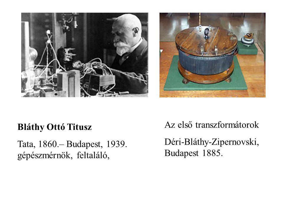 Az első transzformátorok