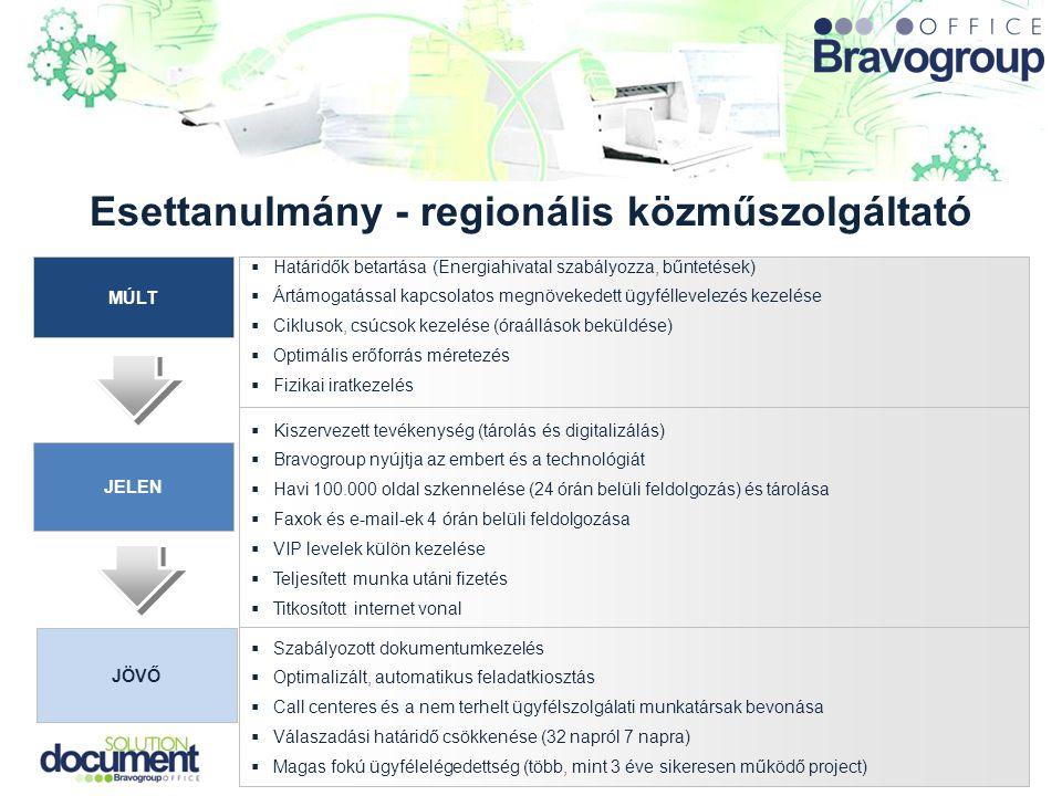 Esettanulmány - regionális közműszolgáltató