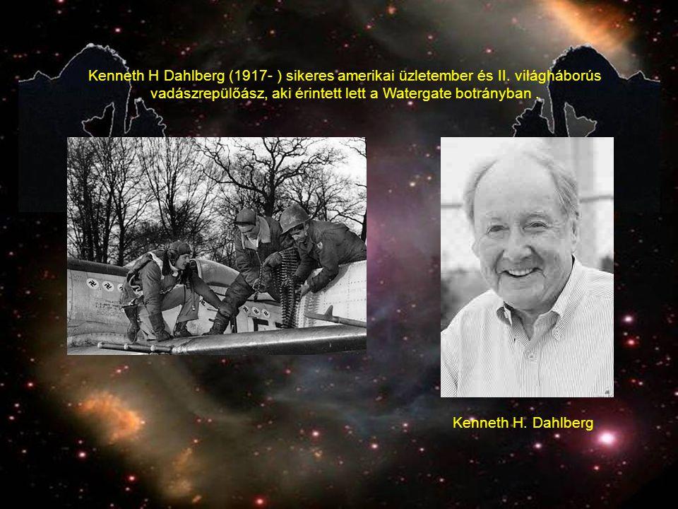 Kenneth H Dahlberg (1917- ) sikeres amerikai üzletember és II