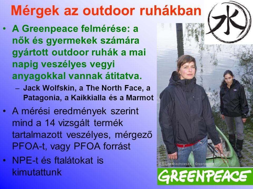Mérgek az outdoor ruhákban