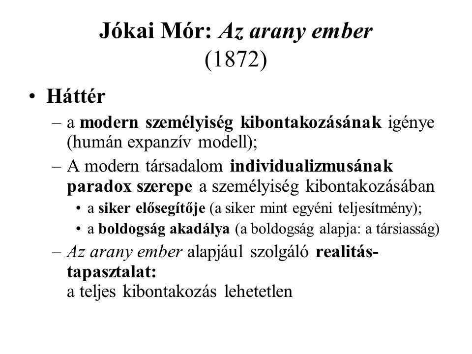 Jókai Mór: Az arany ember (1872)