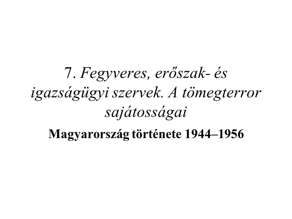 Magyarország története 1944–1956