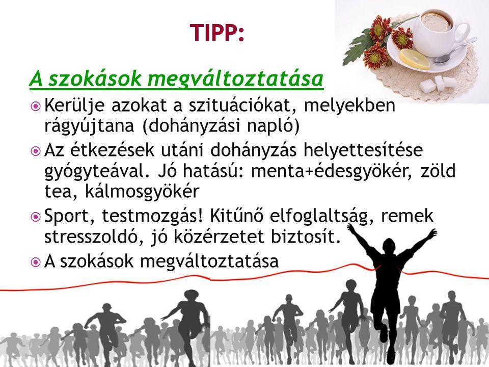 TIPP: A szokások megváltoztatása