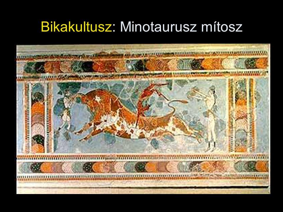 Bikakultusz: Minotaurusz mítosz