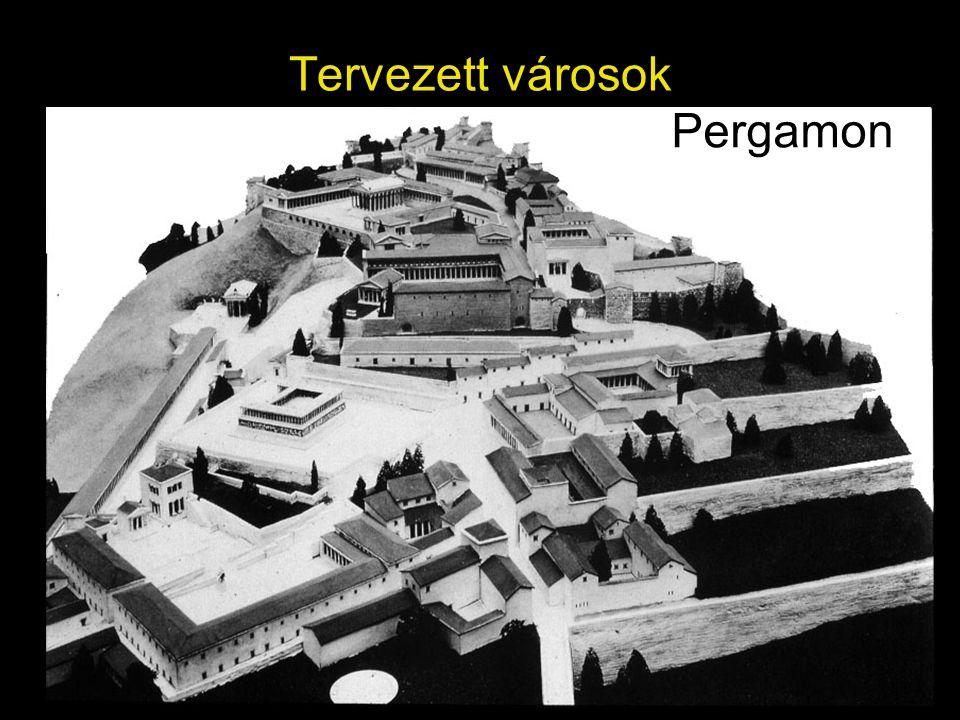 Tervezett városok Pergamon
