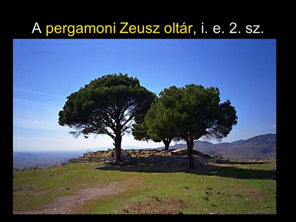 A pergamoni Zeusz oltár, i. e. 2. sz.