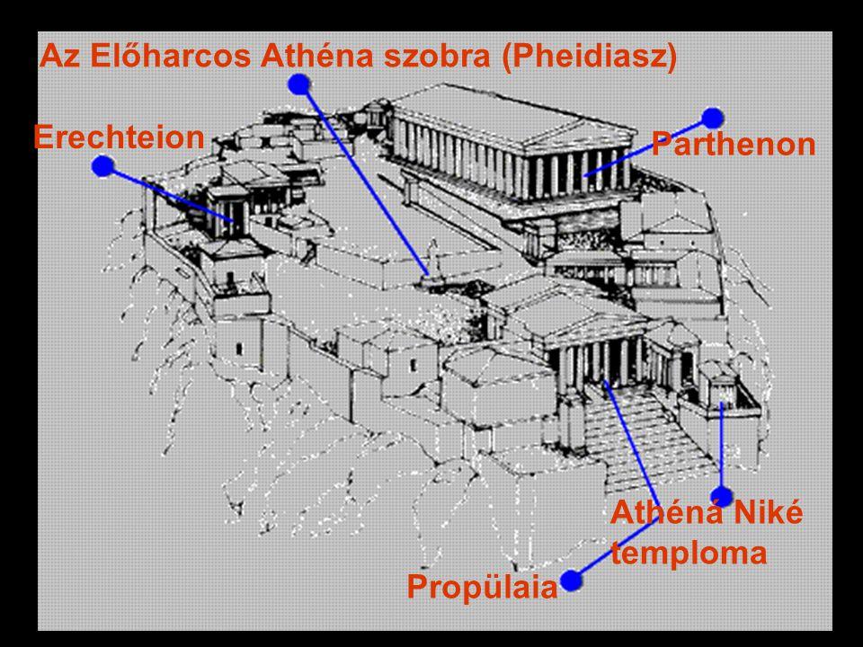 Az Előharcos Athéna szobra (Pheidiasz)