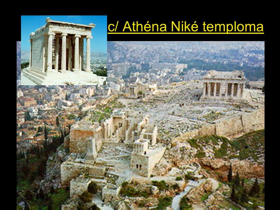 c/ Athéna Niké temploma