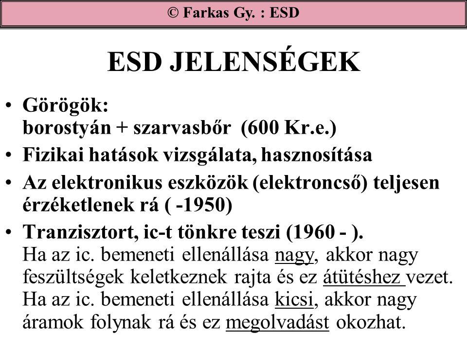 ESD JELENSÉGEK Görögök: borostyán + szarvasbőr (600 Kr.e.)