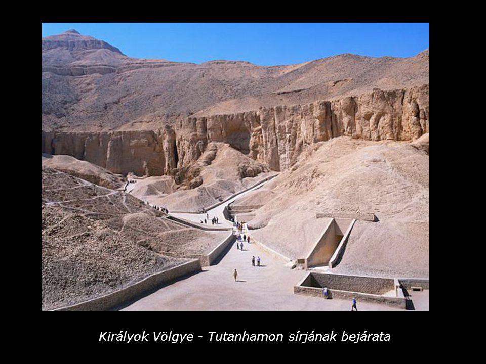 Királyok Völgye - Tutanhamon sírjának bejárata