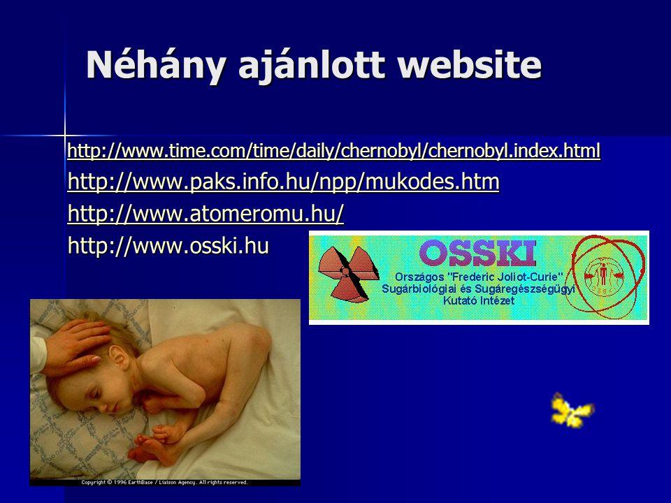 Néhány ajánlott website