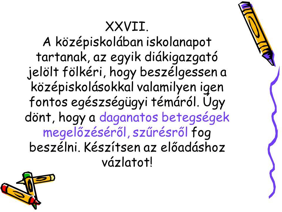 XXVII.